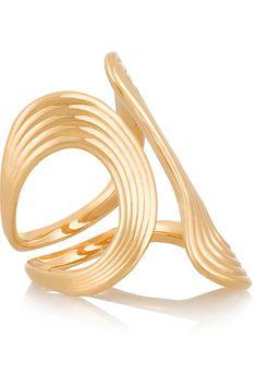 Fernando Jorge|Stream Lines 18-karat gold ring(=)