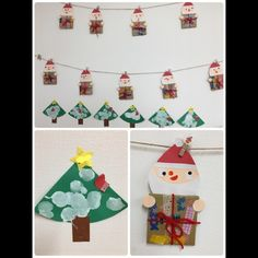 Christmas Crafts For Kids, Kids Christmas, Xmas, Homemade Gifts, Advent Calendar, Art Projects, Holiday Decor, Puppets, Noel