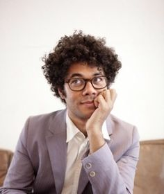 Richard Ayoade - Very funny on The IT Crowd