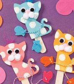 cat craft idea for kids (8) Cat craft idea Laura