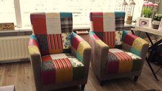 H&B Lifestyle collection #maatwerk #patchwork #zitmeubelen #banken op maat #bankopmaat #design #maatbank #patchwork bank #kleurenbank #loungebank #patchworkfauteuil #kleurenstoel fauteuils op maat