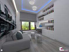 Gabinet styl Nowoczesny - zdjęcie od CUBE Interior Design - Gabinet - Styl Nowoczesny - CUBE Interior Design