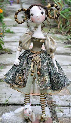 Коллекционные куклы ручной работы. Авторская кукла Моя дочь - ОВЕН. Татьяна Пущина. Ярмарка Мастеров. Подарок на новый год