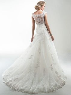 Briony Wedding Dress by Maggie Sottero | back