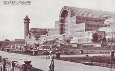 Exhibition Building, Exhibition Space, Croydon Airport, Beil, Palace London, Glass Structure, Victorian Buildings, Palace Garden, Old London