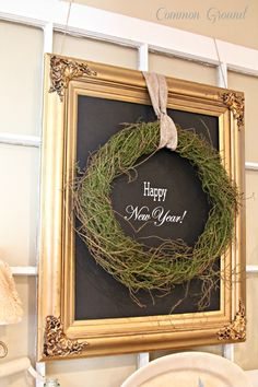 Like the frame/chalkboard idea