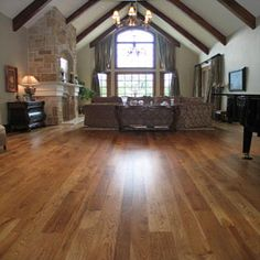 Vintage Classic 10mm Appalachian Hickory Flooring At