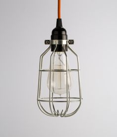 Customise your ceiling light with this decorative forgotten silver drop light cage.  Choose your style of Italian fabric cable  and voila, your bespoke ceiling cage light is complete.