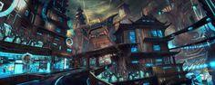 http://m-wojtala.deviantart.com/art/Shadow-Warrior-2-First-Cyber-City-640453646