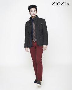 Kim Soo Hyun (김수현) for ZIOZIA (지오지아) 2012 F/W #22 #KimSooHyun #SooHyun #ZIOZIA