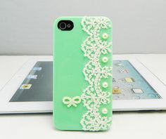 Lace case iphone 5 case   iPhone 4s case iPhone by dnnayding, $18.99