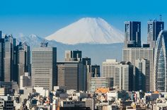https://flic.kr/p/quF2aG   Mt. Fuji and Shinjuku   Goes together like chocolate and peanut butter.