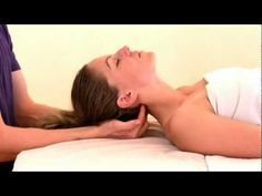 Occipital Base Release from Cranial Sacral Therapy 1 Seminar - YouTube - for Cluster Headaches