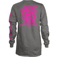 22b37118e61 Three Squared Juniors  Kennesaw State University Cynthia Long Sleeve Pocket  T-shirt Arkansas State
