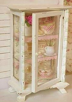 i would use it to store old buttons in old jars