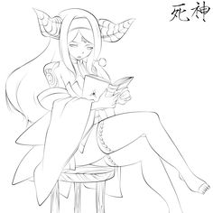 The Stories That Demons Read by TheCarrotSaysYumYum on DeviantArt Adult Coloring Pages, Coloring Books, Lineart Anime, Fairy Tail Drawing, Anime High School, Art Inspiration Drawing, Art Base, Pencil Art Drawings, Pictures To Draw