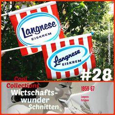 Langnese-Eisfahne 1959 und 1964