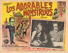 Mexican Lobby card for - Munster, Go Home! (1966)