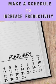 Need to update your schedule? Want to increase your productivity at work, at home, and in general? Check out these tips for creating the perfect schedule to increase producivity and get sh*t done!