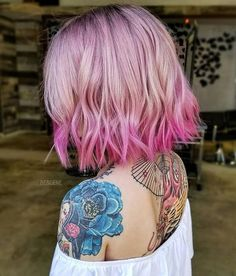 Modern Pink Melt and Cut by @bescene