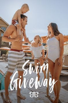 SWIMSUIT GIVEAWAY! Win suits for the whole family! Contest closes 6/24/18 at midnight MST! Click through to enter! #swimsuits #swimwear #giveaway #contest #swimsuitsforkids #swimsuitsformoms #swimsuitsforteens #swimsuitsformen #swimsuitsforboys #swimsuitsforgirls #win