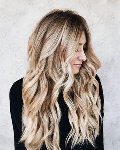 Blonde Hair #hairstyle