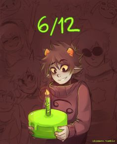 Homestuck fanart by Ikimaru on tumblr, karkat vantas