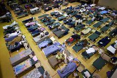 wheather hurrecane arthur | Port Arthur: Residents fleeing Hurricane Gustav fill the Beech Street ...