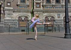 St. Petersburg, April 2014, during Dance Open Festival.