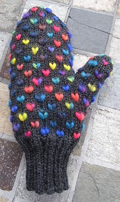 Ravelry: Thrummed Mittens, Stuffed Mittens ...or Fluffies pattern by Joan Janes