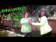 Jenna Marbles + GloZell = BFF - YouTube