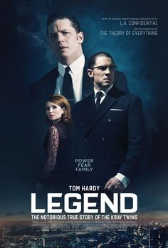 EXCLUSIVE: Tom Hardy is the Kray Twins in the new poster for Legend