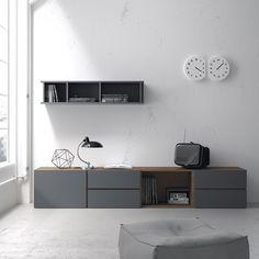 Resultado de imagen de vive muebles Dresser With Tv, Tv Cabinets, Floating Nightstand, Decoration, Credenza, Drawers, Furniture Design, Tv Units, Dining