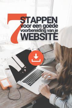 Een goede website begint bij een goede voorbereiding! Ga jij je eigen website maken? Of ben je op zoek naar een webdesigner die dat voor je doet? Allereerst is het dan belangrijk om goed voor ogen te hebben waar je met je website naartoe wilt. Dit maakt het uiteindelijk designproces veel soepeler en sneller.... Website, Stuff Stuff