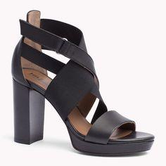 Tommy Hilfiger Leather Sandal - black (Black) - Tommy Hilfiger Sandals - main image
