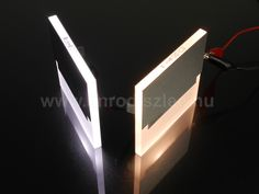 Kanlux Sabik dekor led lámpa.  3000 Kelvines és 6500 Kelvines változatban kapható.