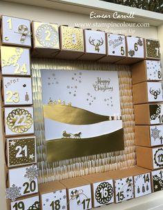 Eimear Carvill www.stampincolour.com Tiny Treat Box Advent Calendar