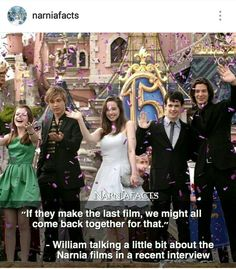 Yesss. I'll wait for see them playing as grows up Pevensie