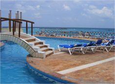 Stunning pool in Cancun, provided by Krystal International Vacation Club