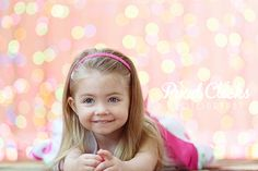 How To | Bokeh Photography Backdrop + 9 More DIY Backdrop Ideas