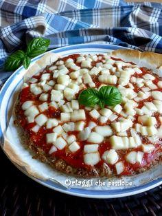 Pizza di carne trita Ortaggi che passione by Sara