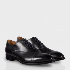 Paul Smith Shoes - Men's Black Leather Berty Brogue Shoes