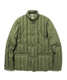 Rocky Mountain FeatherBed(ロッキー マウンテン フェザーベッド)の「ROCKY MOUNTAIN FEATHERBED × fennica / <Men's>6Month china Down jacket(ブルゾン)」|オリーブ