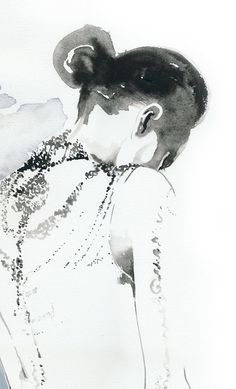 Cate Parr on Etsy fashion illustration