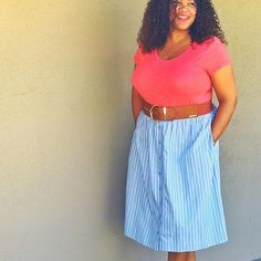 Have this thing with pockets. 💁🏾 - Always love a skirt or dress just a bit more if it has pockets! What about you? Happy Thursday! #wearwhatyoulike #target #whowhatwear
