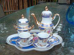 Vintage Nine Piece Adeline Mini Tea Set by HerefordHillFarm