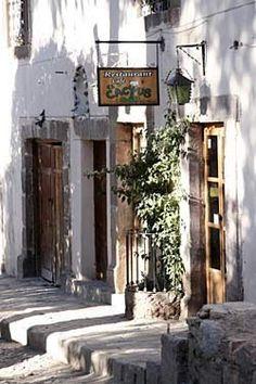 El Cactus Restaurant, Real De Catore, San Luis Potosi