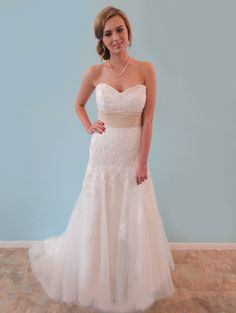 """Find this Eden gown at an amazing price at Forever Amour Bridal's """"Find the One"""" Sample Sale Sept.18-22 Call to make an appointment 212-486-2900"""