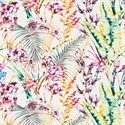 Shop for Fabric at Style Library: Paradise by Harlequin. An overlapping profusion of exotic flowers fill this energetic wa. Tropical Birds, Tropical Flowers, Harlequin Fabrics, Dynamic Design, Kew Gardens, Curtains With Blinds, Exotic Flowers, Design Process, Painting Techniques