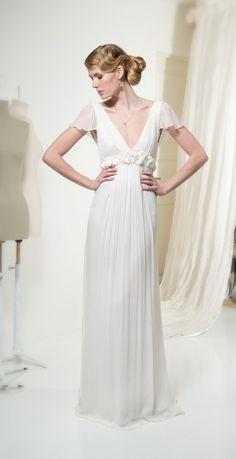 Robe de mariée Leila Hafzi chez Metal Flaque à Paris, France